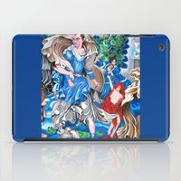 sam smith iPad Cases featuring Blue Fairy, Sam Fan Art by Annette Jimerson