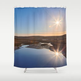 Twin Suns of Point Reyes Shower Curtain