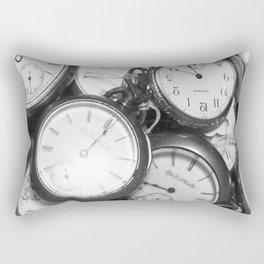 Forever in Time Rectangular Pillow