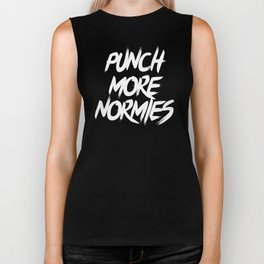 Punch More Normies Biker Tank