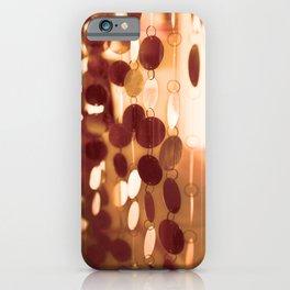 GLAM CIRCLES #Orange #1 iPhone Case
