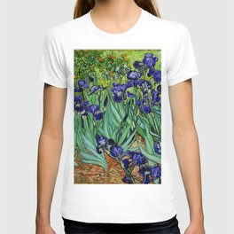 Van Gogh Purple Irises at St. Remy T-shirt