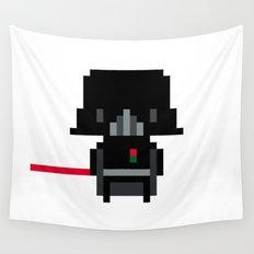Pixel Darth Vader Wall Tapestry