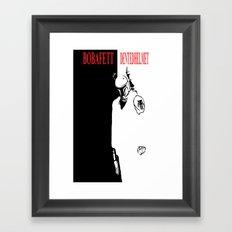 Boba Fett - Dented Helmet Framed Art Print