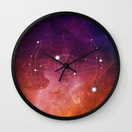 Constellation Vader Tie Fighter Wall Clock