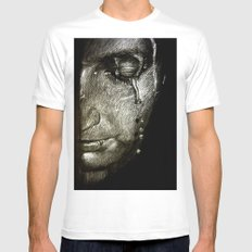 Repentance White Mens Fitted Tee SMALL