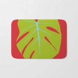 Tropical Leaf - Young Monstera Bath Mat