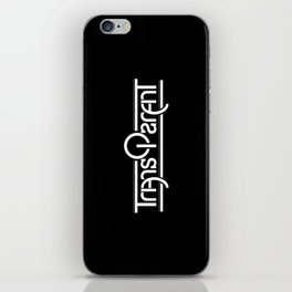 Transparent (Mirror) iPhone Skin