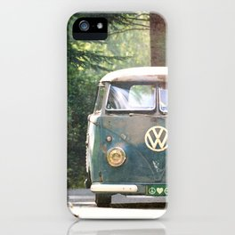 Peace Love Nature iPhone Case
