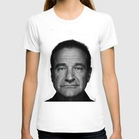 robin williams T-shirts featuring Robin Williams by Ionic Slasher