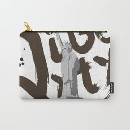 Calligraphy_LIBERTY_STATUE_e01 Carry-All Pouch