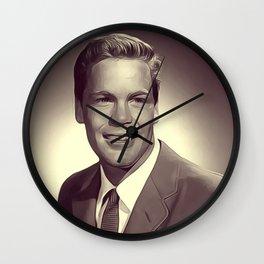 Doug McClure, Vintage Actor Wall Clock