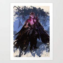 League of Legends RAKAN and XAYAH Art Print