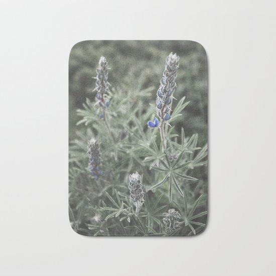 Wildflowers | Botanical Photography | Plant | Flowers | Nature Bath Mat