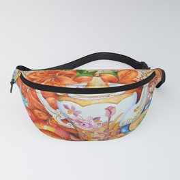 Lilies and Lace Fanny Pack