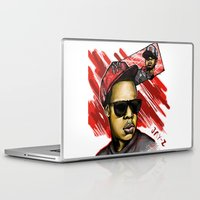 jay z Laptop & iPad Skins featuring Jay Z by C.Love Designs
