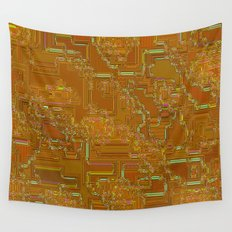 Luxurious labyrinth Wall Tapestry