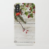 xmas iPhone & iPod Cases featuring Xmas by Ylenia Pizzetti