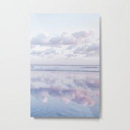 Blue Clouds Metal Print