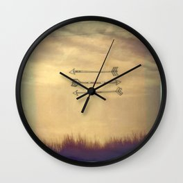 Wispy Way Wall Clock