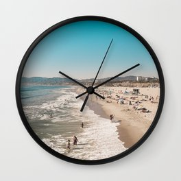Santa Monica Wall Clock