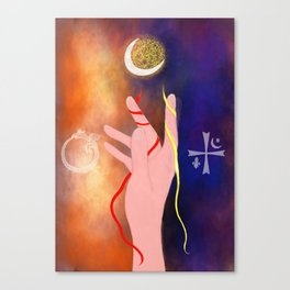 A witch's power Canvas Print