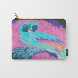 Macaw Parrot Inverted  Carry-All Pouch