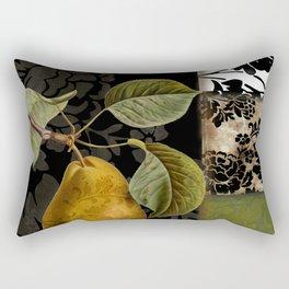 Damask Lerain Pear Rectangular Pillow