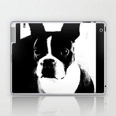 Boston Terrier Love Laptop & iPad Skin