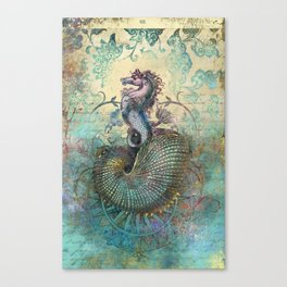 The Seahorse Diary Canvas Print