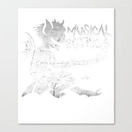Musical Gothics Demon Canvas Print