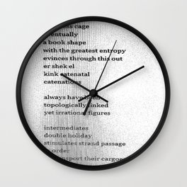 Possible Allies Among the Indifferent Codices Wall Clock