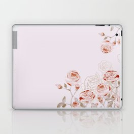 FRENCH PALE ROSES Laptop & iPad Skin