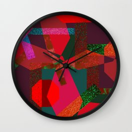 PARTY-COLORED Wall Clock