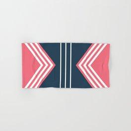 Nautical geometry 5 Hand & Bath Towel