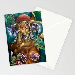 Taurus Goddess Stationery Cards