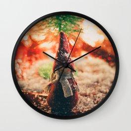158 - Christmas memories Wall Clock