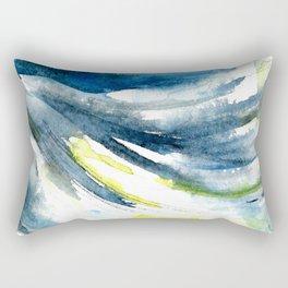 Moonlight waves / 2. Rectangular Pillow