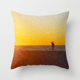 Cote d'Or Throw Pillow