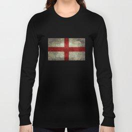 Flag of England (St. George's Cross) Vintage retro style Long Sleeve T-shirt