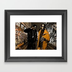 Wiz & Tempah Framed Art Print