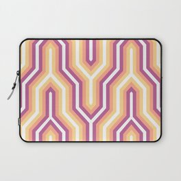 Retro Chevron Warm Laptop Sleeve