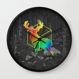 Catch The Reinbow Wall Clock