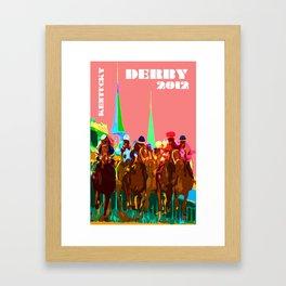 Glory of Kentucky Derby Framed Art Print