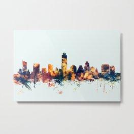 Austin Texas Skyline Metal Print