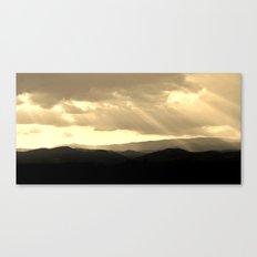 Terre bénie Canvas Print
