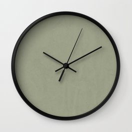 Simply Green Tea Wall Clock