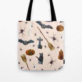 Halloween Pattern Tote Bag
