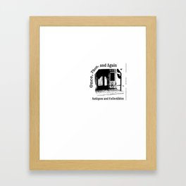 Once, Then, and Again Antiques and Collectables Framed Art Print