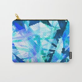 pixilated icicles  Carry-All Pouch